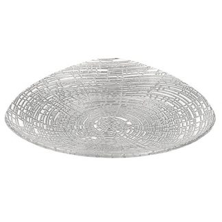Silver Web Handcrafted Large Fruit Bowl