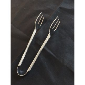 Silver Serving Tongs